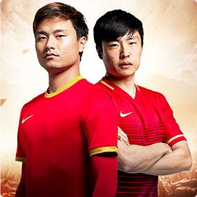 游戏代言人-足球明星